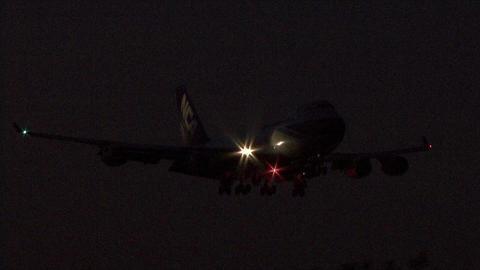 日本貨物航空 JA06KZ 夜撮ざんす (´・ω・`)
