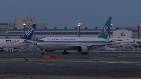 モヒカンジェット(JA602A)@成田国際空港
