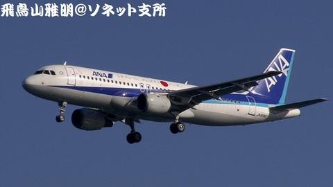 全日本空輸 JA8392@東京国際空港。浮島町公園より。