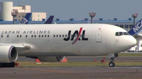 日本航空 JA8987 本機は国際線仕様