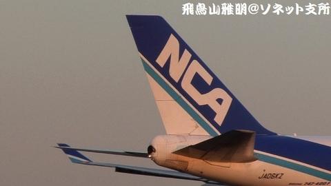 JA06KZの尾翼。